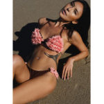 New Ladies Petals Halter String Bikini
