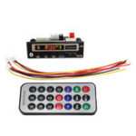New 2V bluetooth 5.0 MP3 Decode Board Audio Module USB TF Radio For Car+Controller