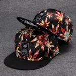 New Woman Men Maple Leaf Embroidered Street Dance Baseball Cap