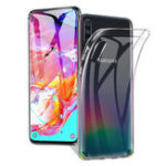 New Bakeey 1.5mm Ultra-thin Shockproof Transparent TPU Protective Case for Samsung Galaxy A70 2019