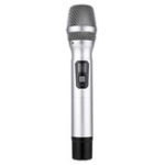 New UHF Wireless Dynamic Microphone with Receiver Handheld Mic for Karaoke