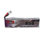 New Gaoneng 3.8V 650mAh 60C 1S HV 4.35V Lipo Battery PH2.0 Plug for Happymodel Snapper7 E010 M80S Tiny7 Beta85 RC Drone