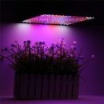 New 225LED Grow Light Blue & Red & White & Orange Lamp Ultrathin Panel Hydroponics Indoor Plant Veg Flower AC85-265V