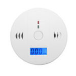 New Combination Smoke Carbon Monoxide Detector Gas Fire CO Alarm with Display