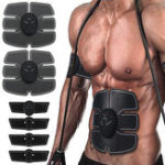 New KALOAD Abdominal Arm Muscle Trainning Stimulator EMS Training Electrical Body Shape Trainer