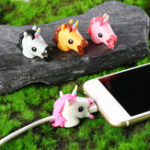 New Cable Accessory Cable Animal Bites Cartoon USB Charger Data Cable Cord Protector