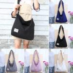 New 12L Women Large Canvas Handbag Shoulder Bag Tote Ladies Girl School Travel Bag