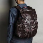 New Men Leisure Large Capacity String Backpack