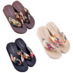New Women's Sandals Non-Slip Wearable Ultralight Beach Sandals Slippers Bath Slippers