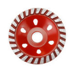 New 100mm Diamond Grinding Wheel Disc Concrete Masonry Stone Marble Sanding Wheel Red