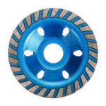 New 100mm Segment Diamond Grinding Wheel Abrasive Tools Disc Concrete Masonry Stone Blue