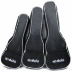 New 21/23/26 Inch Black Ukulele Bag Soft Padded Carry Protect Backpack