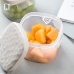 New Xiaomi JORDAN&JUDY PP Food Grade Outdoor Food Storage Box Lunch Box Crisper Microwave Oven Box