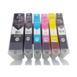 New ZSMC Ink Cartridge Plug Suitable For Canon PGI25 Canon Pixma ip7220/MG5420/MX922/MG6320 Compatible Ink Cartridge