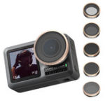 New Ulanzi ND8 ND16 ND32 ND64 CPL Lens Filter for DJI OSMO Action Sports Camera