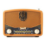 New Portable Retro FM AM SW Radio AUX USB TF Card bluetooth Speaker MP3 Music Player