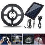 New Solar Powered 36 LED Umbrella Light Outdoor Garden Patio Lamp 2 Modes
