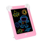 New 3D Magic Drawing Board Pad LED Writing Tablet Led Kids Adult Display Panel Luminous Tablet Pad Drawing Toy