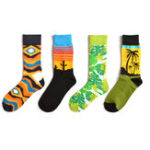 New Men Coco Cactus Cotton Tube Socks