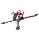 New HSKRC 68#218 218mm Wheelbase 5 Inch 4mm Arm Carbon Fiber Frame Kit for RC Drone FPV Racing