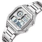 New STRYVE S8007 Luminous Alarm Countdown Men Digital Watch