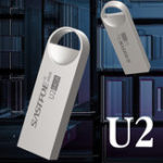 New USB Disk Metal Stainless Steel 32G/64G Flash Drive Waterproof High Speed Memory Disk