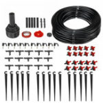 New 71pcs 23M Ethylene Pipe Micro Automatic Drip Irrigation System for Garden Watering