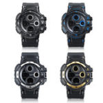 New Fashion Luminous Display Men Dual Display Digital Watch
