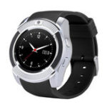 New Bakeey V8 Butil-in GPS Activity Tracking 360MHz 32G TF Card Extension SMS Music Player Smart Watch Phone