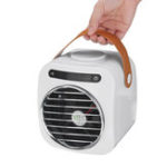 New USB Mini Portable Air Conditioner Fan Desktop Humidification Low Noise Air Cooler Fan Conditioner 350ml Water Tank
