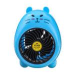 New 2.5W USB Cartoon Mini Electric Fan Table Desktop Cooling Fan