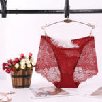New Women Lace Mid Rise Panties