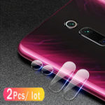 New Bakeey™ 2PCS Anti-scratch HD Clear Tempered Glass Phone Camera Lens Protector for Xiaomi Redmi K20 / Xiaomi Redmi K20 Pro