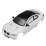 New Firelap RC Car Body Shell For 1/28 Das87 Wltoys Mini-Q RC Model Vehicle White