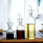 New 125-500ml Olive Oil Glass Dispenser Vinegar Pourer Bottles Kitchen Cooking Tool