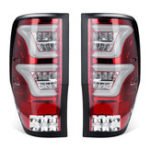 New Pair Car Rear Tail Brake Light Lamps For Ford Ranger T6 T7 XL XLT MK1 MK2 2012-2018