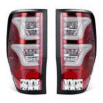 New Pair Car Rear Tail Brake Light Lamps For Ford Ranger T6 T7 XL XLT MK1 MK2 2012-2018