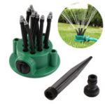 New 360° Rotating Garden Lawn Sprinkler Automatic Irrigation Spray Sprinkle Sprayer