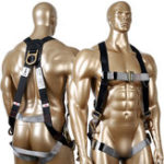 New KSEIBI Universal Size Safety Fall Protection Kit Full Body Harness