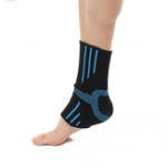 New BOER 1 Pair Nylon Ankle Support Breathable Sweat Absorption Outdoor Basketball Football Fitness Ankle Brace