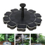 New 5V 2.5W Solar Power Floating Bird Bath Water Fountain Pump Garden Pond Pool Solar Water Pump