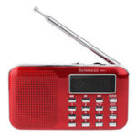 New Retekess PR11 Portable Digital Tuning FM AM Radio TF Card USB Disk MP3 Music Player Flashlight