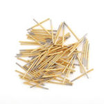New 100 PCS P125-J Small Round Tead Test Spring Thimble Integrated Detection Probe Tool Accessories Test Pin