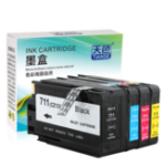 New TIANSE HP711 711 Ink Cartridge For HP Designjet T120 T520 for CZ133A CZ130A CZ131A CZ132A Printer Ink