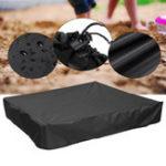 New Green Sandbox Sandpit Cover Dustproof Waterproof with Drawstring