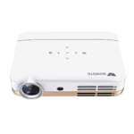 New Wowoto H10 DLP Smart Projector 4500 Lumens 1280x800P 1000:1 Contrast Ratio Supports 4K Wifi Bluetooth Projector