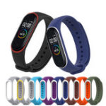 New Double Color Watch Band Strap Replacement for Xiaomi Miband 4