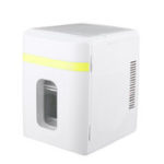 New 10L Mini Portable Home Car Refrigerator Cooler&Warmer Dormitory Cosmetics Fridge