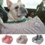 New Universal Dog Car Seat Pet Booster Travel Safety Mat With Storage Pocket 55x50x30cm