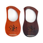 New 7 Strings Mahogany Wood Iyre Harp With Tunning Tool/Extra Strings